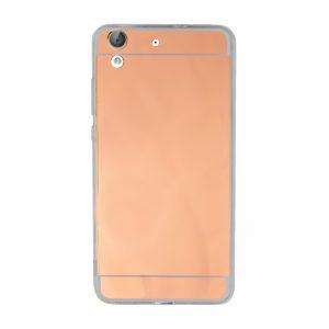 Silikónový kryt pre Huawei Y6 II Rose Gold - zrkadlový