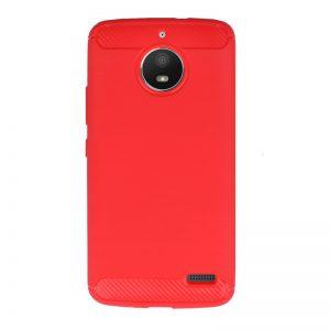 Silikónový kryt pre Lenovo Moto E4 Red