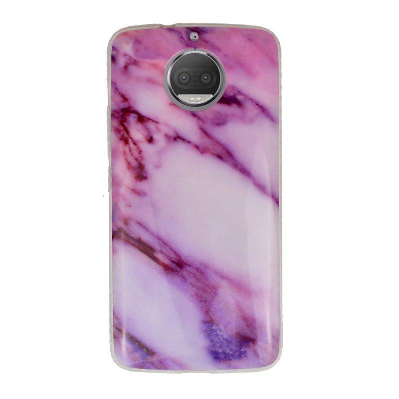 Silikónový kryt pre Lenovo Moto G5s Purple Marble