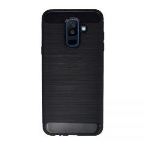 Silikónový kryt pre Samsung Galaxy A6 Plus 2018 Black Carbon