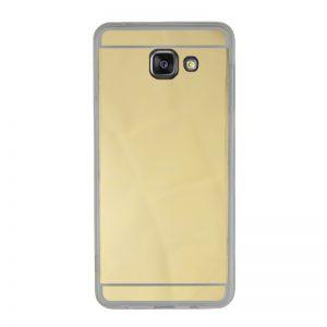 Silikónový kryt pre Samsung Galaxy A7 2016 Gold - zrkadlový