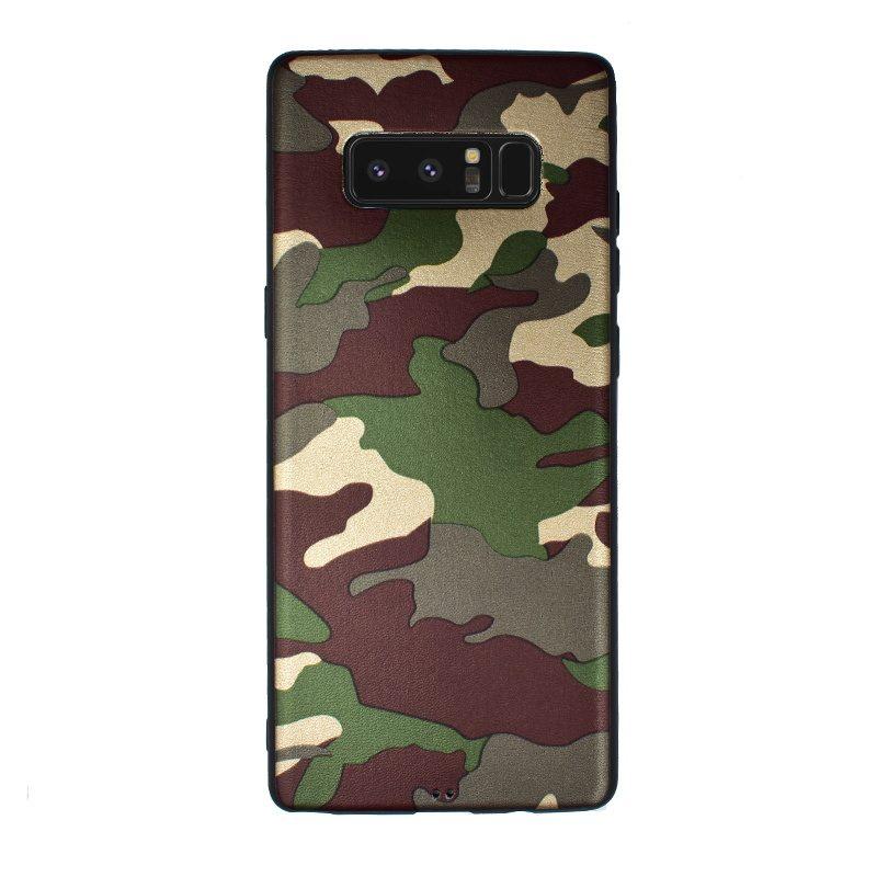 Silikónový kryt pre Samsung Galaxy Note 8 Green Camouflage
