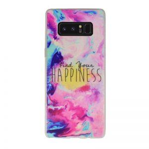 Silikónový kryt pre Samsung Galaxy Note Happiness