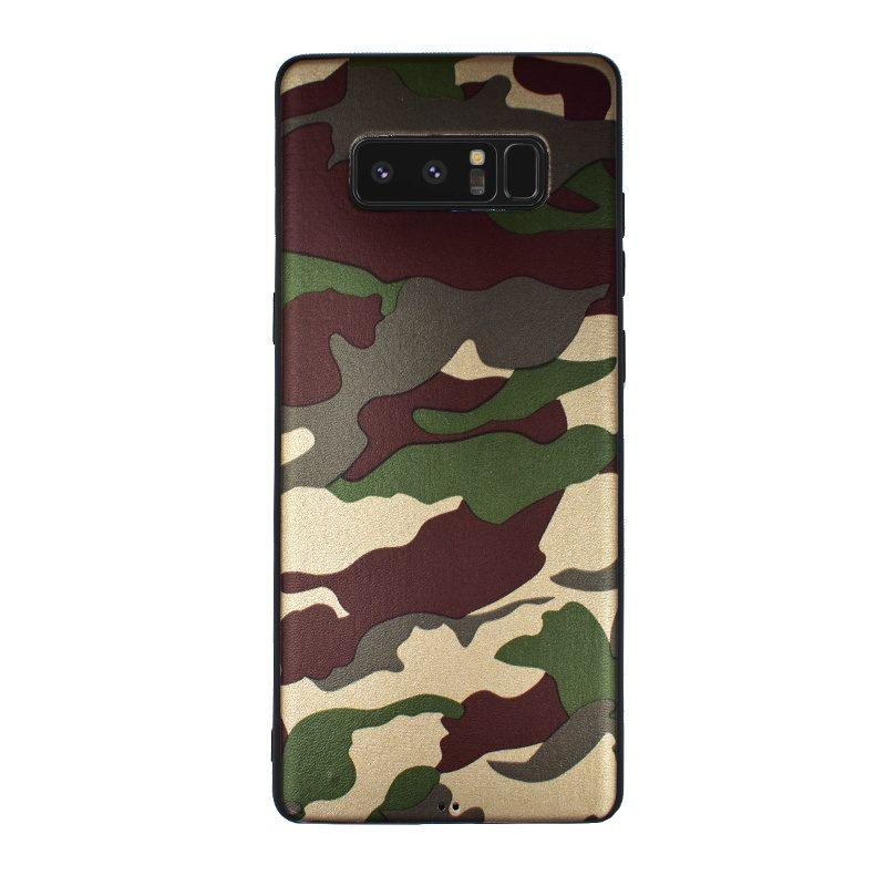 Silikónový kryt pre Samsung Galaxy Note 8 Khaki Camouflage
