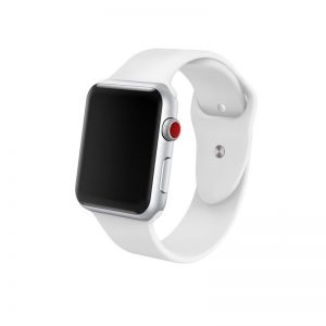Remienok Apple Watch biely
