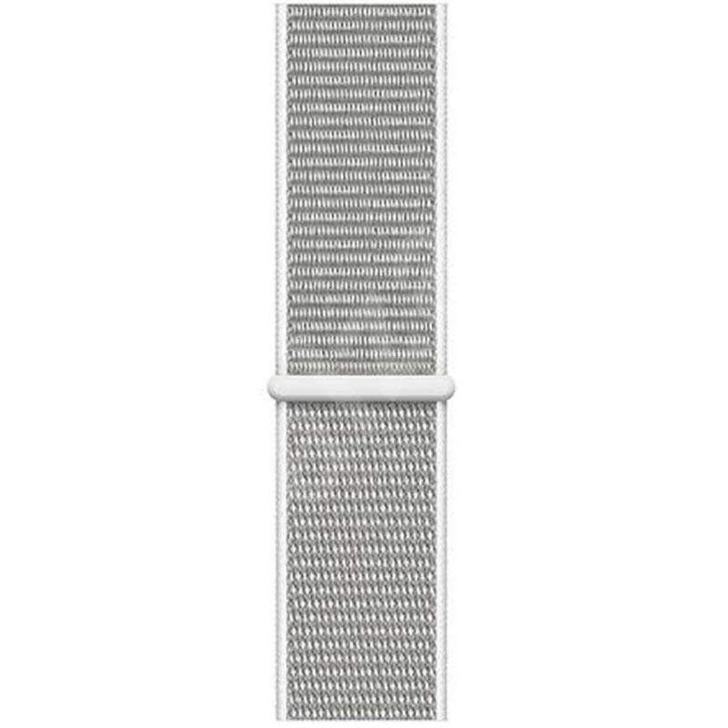 Remienok na Apple Watch 42mm/44mm látkový biely