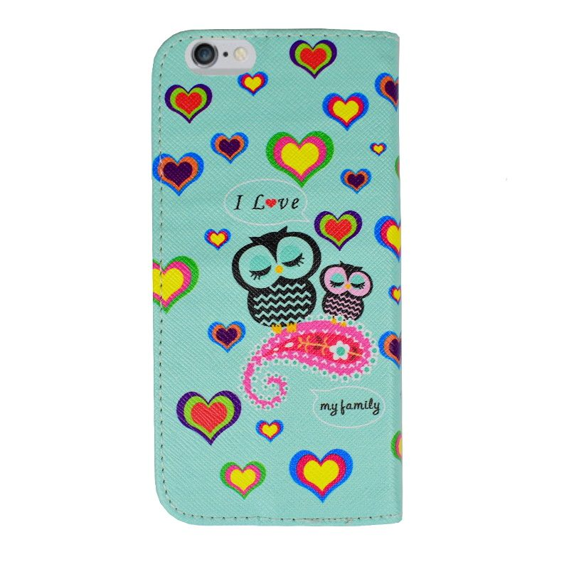Ochranné flip puzdro pre Apple iPhone 6/6S Hearts