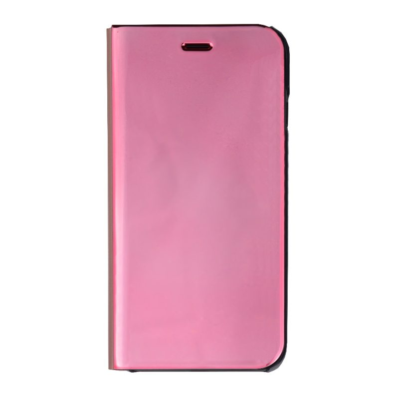 Ochranné flip puzdro pre Apple iPhone 7/8 Pink - zrkadlové