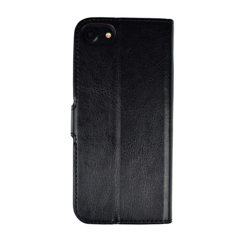 Ochranné flip puzdro pre Apple iPhone 7/8 - čierne