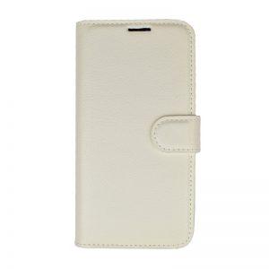Ochranné flip puzdro pre Apple iPhone X/XS - biele