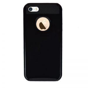 Odolný plastový kryt pre Apple iPhone 5/5S/SE Black