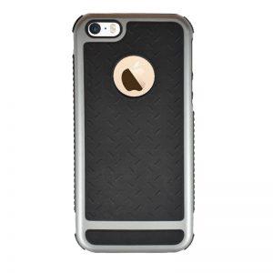 Odolný plastový kryt pre Apple iPhone 5/5S/SE Grey