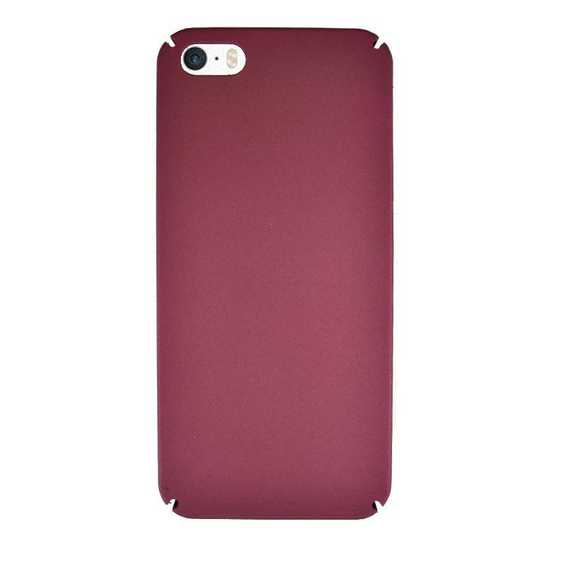 Plastový kryt pre Apple iPhone 5/5S/SE Dark Wine