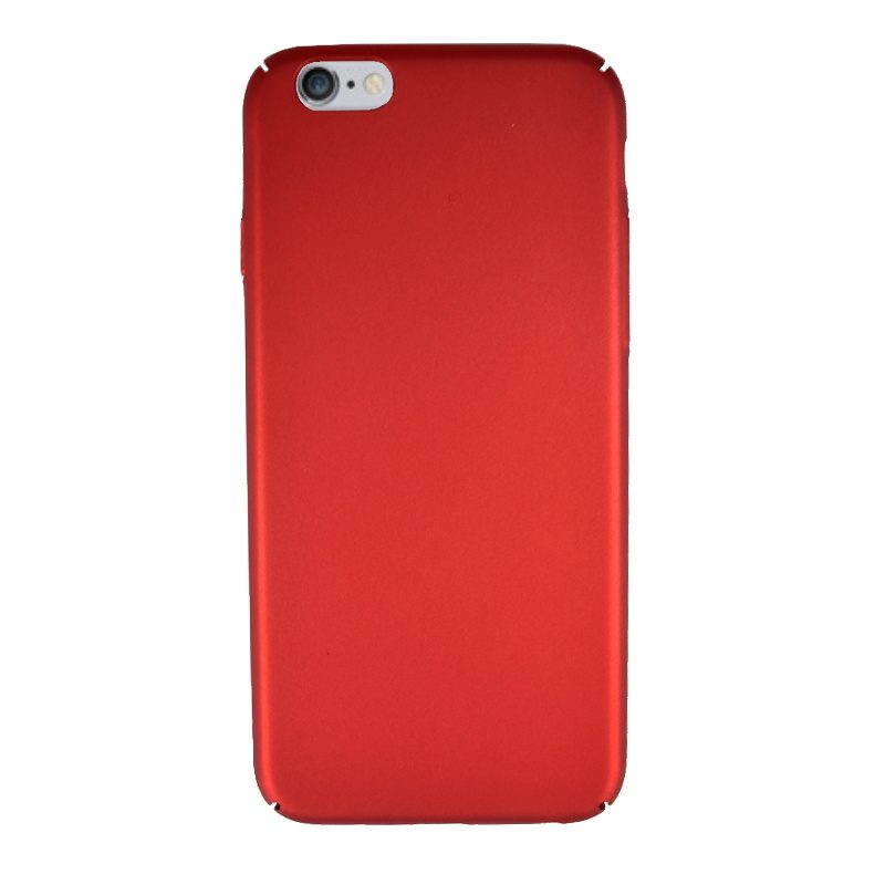 Plastový kryt pre Apple iPhone 6/6S Dark Red