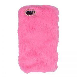 Plastový kryt pre Apple iPhone 7/8 plyšový Pink