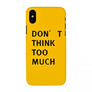 Plastový kryt pre Apple iPhone X/XS Think
