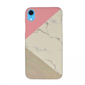 Plastový kryt pre Apple iPhone XR Pink Marble