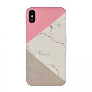 Plastový kryt pre Apple iPhone XS Max Pink Marble