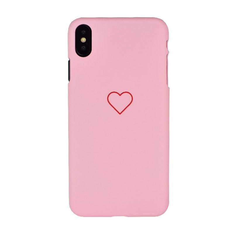 Plastový kryt pre Apple iPhone XS Max Big Red Heart
