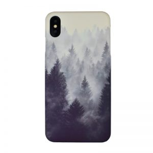 Plastový kryt pre Apple iPhone XS Max Forest Fog