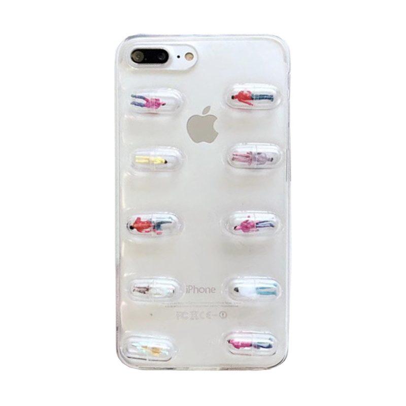 Silikónový 3D kryt pre Apple iPhone 7/8 Plus postavičky