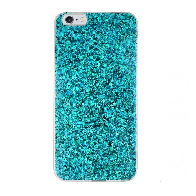 Silikónový kryt pre Apple iPhone 6/6S Plus Blue Sparkling