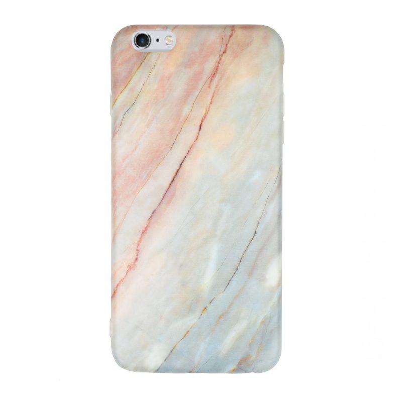 Silikónový kryt pre Apple iPhone 6/6S Plus Light Marble