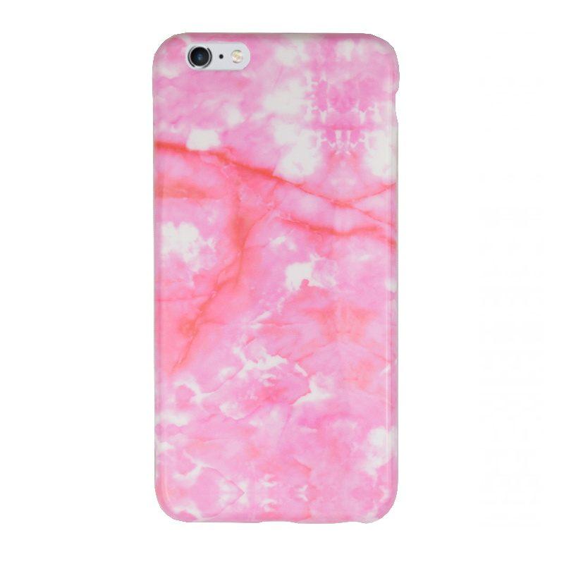 Silikónový kryt pre Apple iPhone 6/6S Plus Pink Art
