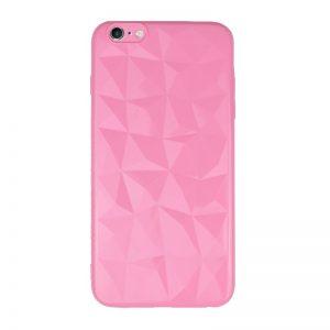 Silikónový 3D kryt pre Apple iPhone 6/6S Plus Pink Geometric