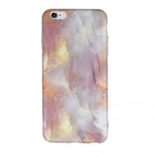 Silikónový kryt pre Apple iPhone 6/6S Plus White Marble