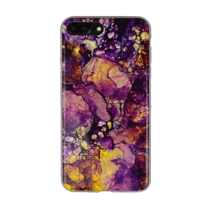 Silikónový kryt pre Apple iPhone 7/8 Plus Purple Art