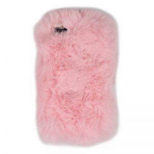 Silikónový kryt pre Apple iPhone 7/8 plyšový Light Pink