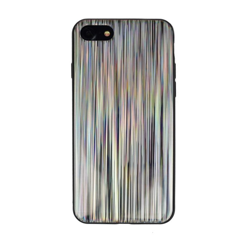 Silikónový kryt pre Apple iPhone 7/8 Silver Lines