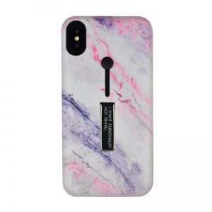 Silikónový kryt pre Apple iPhone XS Max Marble Blue I want