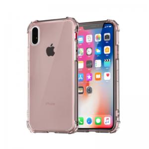 Silikónový kryt pre Apple iPhone XS Max Pink s vystúženými hranami