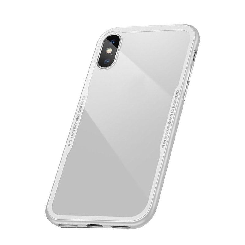 Silikónový kryt pre Apple iPhone XS Max White