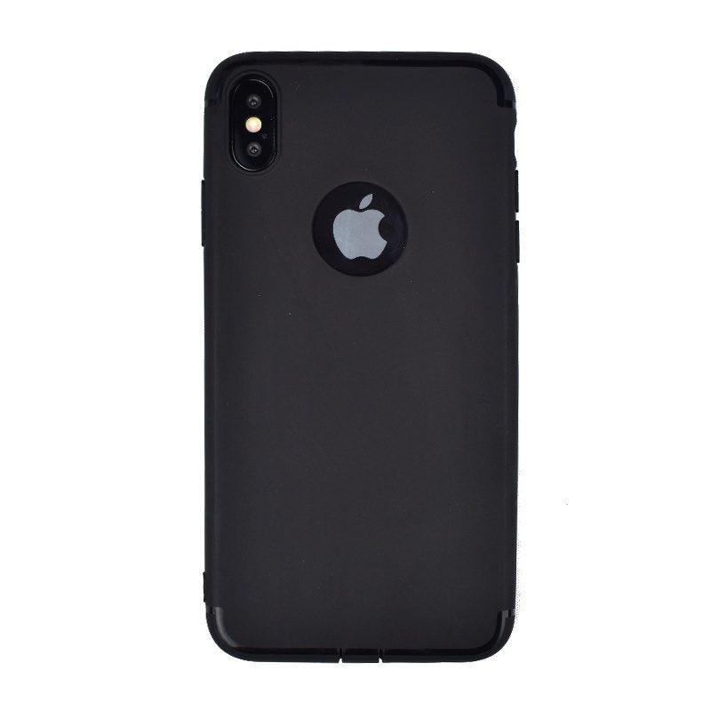 Silikónový kryt pre Apple iPhone XS Max čierny