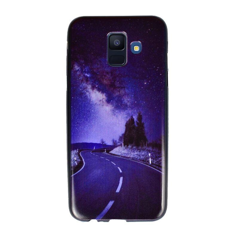 Silikónový kryt pre Samsung Galaxy A6 2018 Night Road