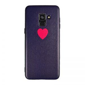 Silikónový kryt pre Samsung Galaxy A8 2018 Red Heart