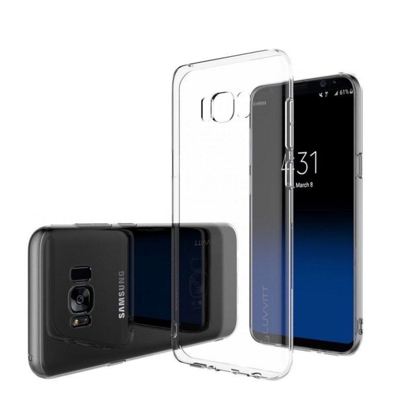 Silikónový kryt pre Samsung Galaxy S8 priehľadný