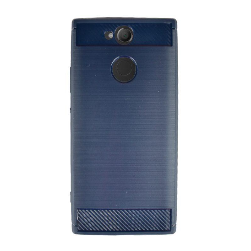 Silikónový kryt pre Sony Xperia XA2 Carbon Blue