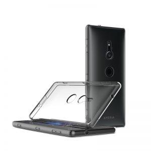 Silikónový kryt pre Sony Xperia XZ2 priehľadný