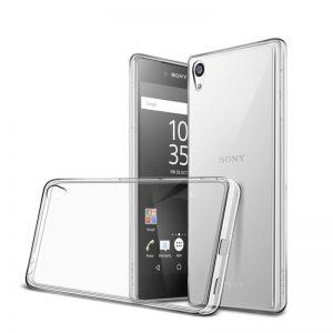 Silikónový kryt pre Sony Xperia Z5 priehľadný