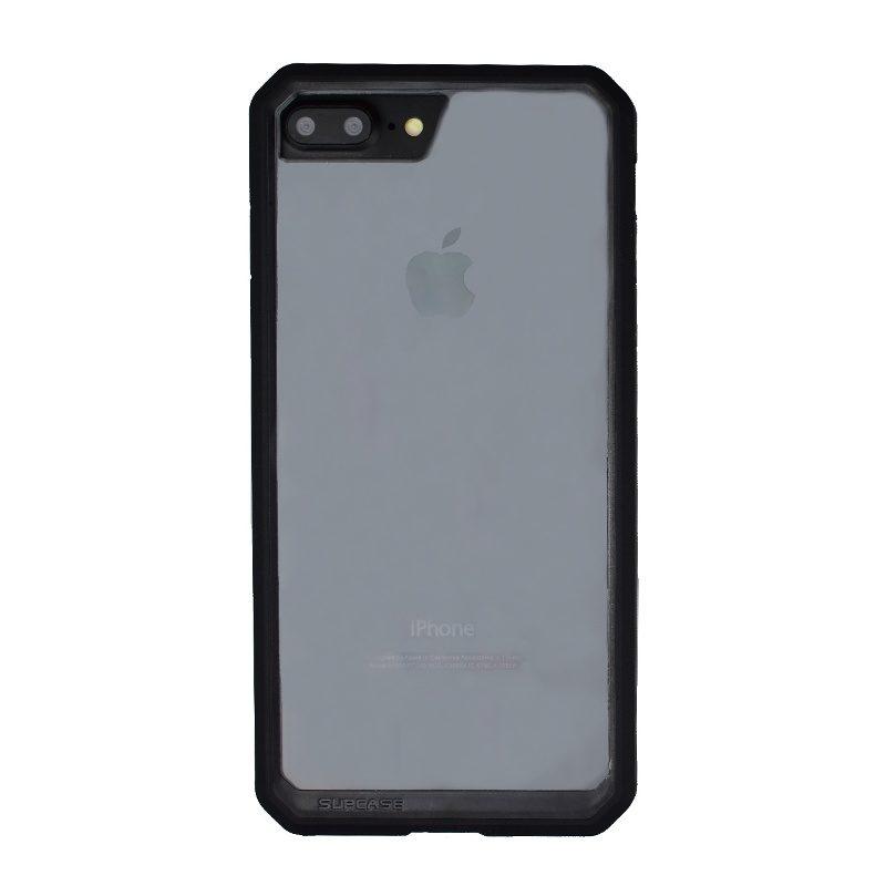 Super odolný Armor kryt pre Apple iPhone 7/8 Plus s priehľadným sklom