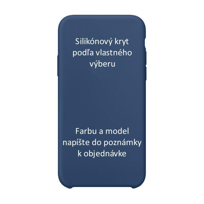 Silikónový kryt pre Apple iPhone - farebný
