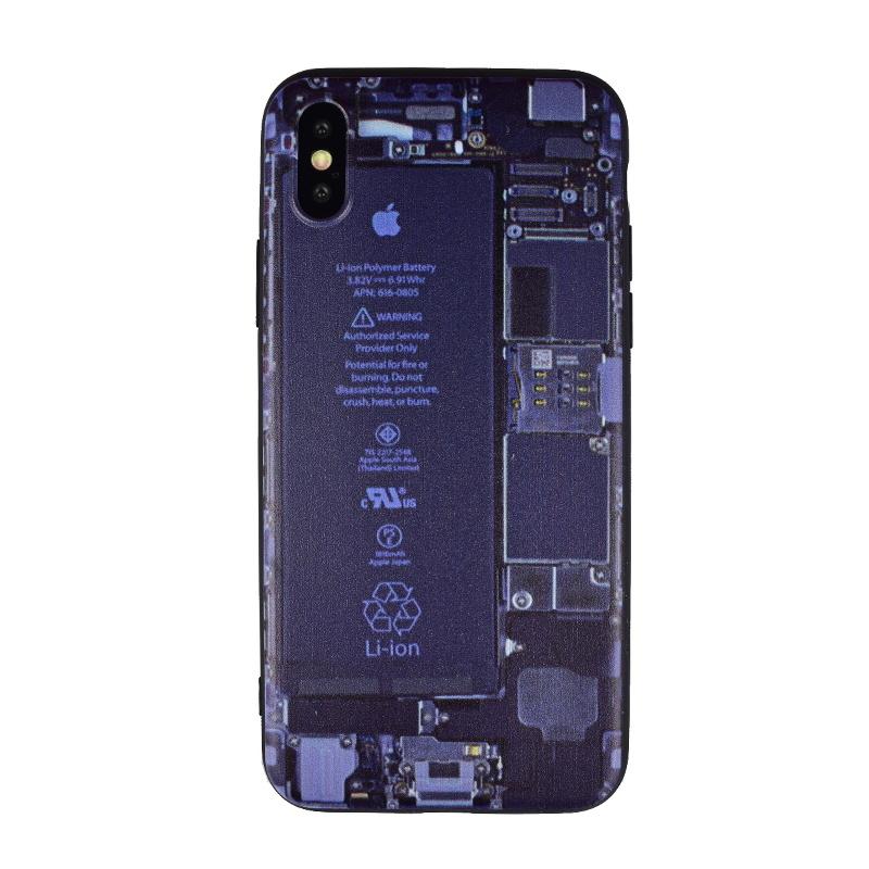 Silikónový kryt pre Apple iPhone X/XS Backside