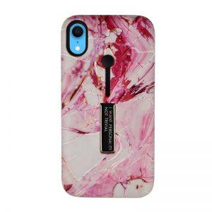 Silikónový kryt pre Apple iPhone XR Pink Marble