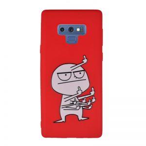 Silikónový kryt pre Samsung Galaxy Note 9 White Men