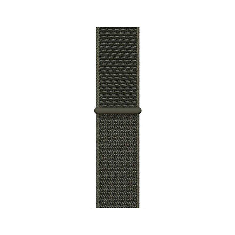 Apple Watch 42mm/44mm látkový remienok Cargo Khaki