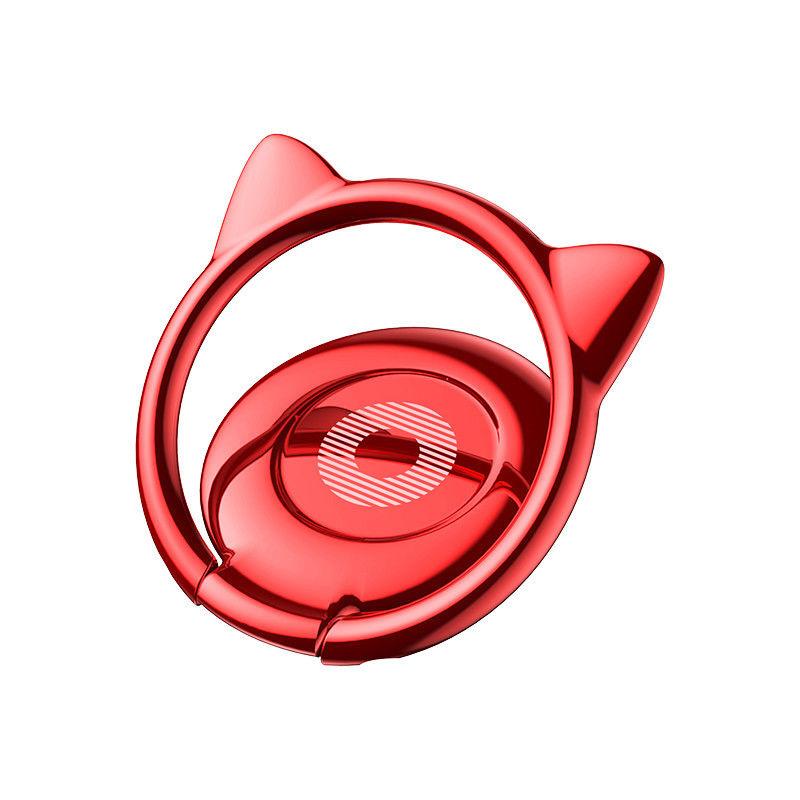 Baseus Cat Ear držiak na telefón - červený